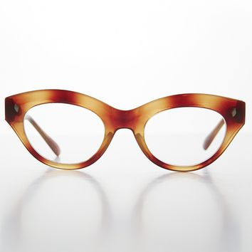 Women's Cat Eye Vintage Eyeglass Frame RX Optical Quality - Sherry