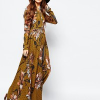 Free People First Kiss Maxi Dress In Large Floral Print