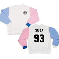 New KPOP Bts Bangtan boys suga jimin jhope Suit long sleeve sweatershirt hoodie Outerwears