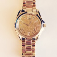 Sparkle On Watch - Gold