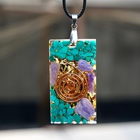 The Art Of Tranquility Orgone Necklace