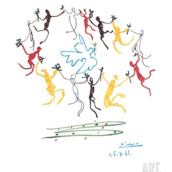The Dance of Youth Art Print by Pablo Picasso at Art.com
