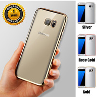 Case Coque For Samsung Plating Design Cover Case For Galaxy For S5 / S6 Edge / S7 / S7 edge / For iphone 6 6s 4.7 inch Case