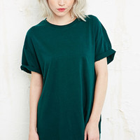 Sparkle & Fade Oversized Roll Sleeve Tee at Urban Outfitters