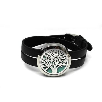 Tree of Life Aromatherapy Diffuser Bracelet