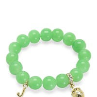 Green Strawberry Beaded Bracelet by Juicy Couture, O/S