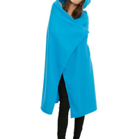 Fairy Tail Happy Hooded Throw