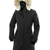 CANADA GOOSE winter women kensington parka jacket/black