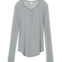 Long-sleeve Henley Tee - Sexy Little Tees - Victoria's Secret