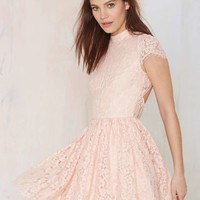 Keepsake Eclipse Lace Dress