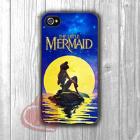 Ariel on the night inspired glitter -ndd for iPhone 4/4S/5/5S/5C/6/ 6+,samsung S3/S4/S5,samsung note 3/4