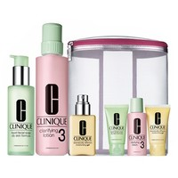 Women's Clinique 'Great Skin Home & Away' 3-Step Skincare Set for Combination Oily to Oily Skin ($90 Value)