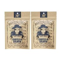 FREE Shipping | 2-Pack Righteous Felon Jerky, Truffle-O Soldier, 2 oz