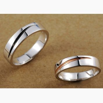 Wedding Bands for Men and Women Set with Names Engraved Personalized Couples Gifts | His Her Necklaces and Bracelets | Engraved Wedding Rings | Couples Clothing