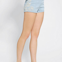 Urban Outfitters - Kimchi Blue Embroidered Rosie Pinup Short