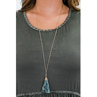 Draw Me Near Necklace - Charcoal