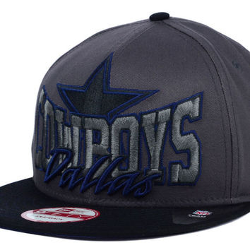 Dallas Cowboys NFL Graphite Out and Up 9FIFTY Snapback Cap