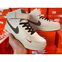 Nike Air Force 1 High-Top Retro Wild Sneakers Shoes