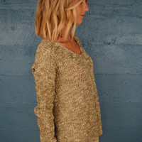 Back To School Sweater Olive