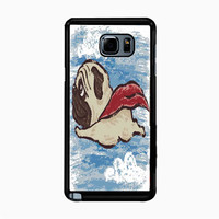 Flying Pug for Samsung Galaxy Note 5 Case *NP*