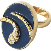 Blue Serpent Drusy Ring, Stone & Novelty Rings