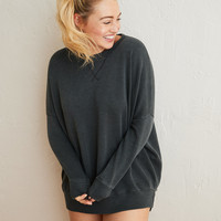 Aerie Hometown Sweatshirt, Smoked Gray