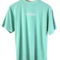 Emotional Baggage Graphic Mint Oversized Unisex Tee