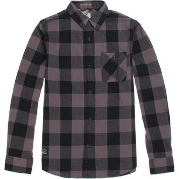 Fourstar Ishod Buffalo Flannel Shirt - Mens Shirts - Black