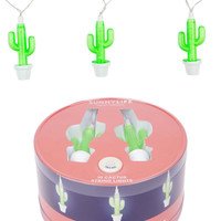 Sunnylife Australia Cactus Shaped Indoor and Outdoor String Lights