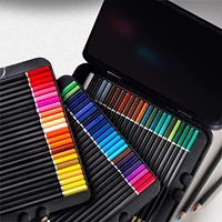 Castle Art Supplies 72 Watercolor Pencils Set for Adults and Professionals