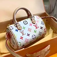 LV simple full printed logo women's handbag crossbody bag