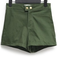 Casual High-waisted Shorts