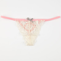 Summer Thong Ivory  In Sizes
