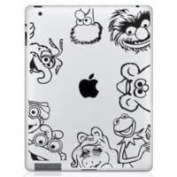 Muppets iPad Decal
