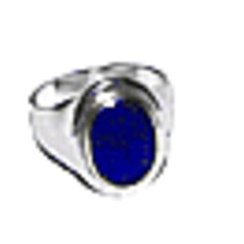 Chevalier Lapis Lazuli and Sterling Silver Rings