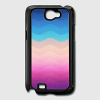 Pride Rainbow Wave (Colorful Geometric) Phone Case Samsung Galaxy Cover | Spreadshirt