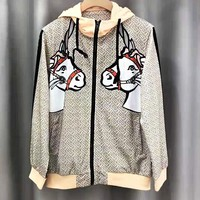 BURBERRY Newest Trending Men Women Casual Sweatshirt Cardigan Jacket Coat