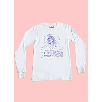 All Dolled Up Long Sleeve Top