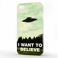 I want to believe X-Files iPhone 4 | 4s Case, 3d printed IPhone case