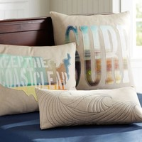Surfer Dude Pillow Cover