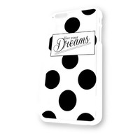 Kate Spade Live Your Dreams White Plastic For iPhone 6 Case