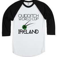 Ireland | Quidditch World Cup-Unisex White/Black T-Shirt