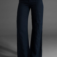 JUICY COUTURE Linen Pocket Pant in Regal at Revolve Clothing - Free Shipping!