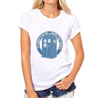 Doctor who British Drama Print T-Shirt