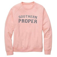 Original Sweatshirt in Pink by Southern Proper