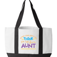 Personalized Aunt's 1 Totebag