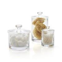 Glass Canisters (Set of 3)