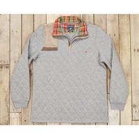 Southern Marsh Carlyle Sporting Pullover- Washed Grey Heather