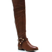 All-Over-The-Knee-Riding-Boots BLACK WHISKY - GoJane.com