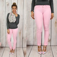 Best Ever Skinny Jeans in Blush